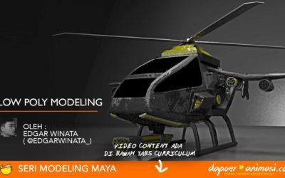 Dapoer Animasi : Low Polygon Modeling