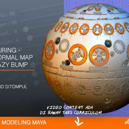 Dapoer Animasi : Basic 3D Texturing – Membuat Normal Map dengan Crazy Bump