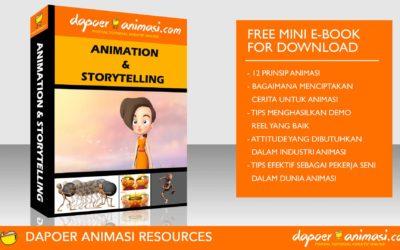 Dapoer Animasi : Free Mini E-book for Download : Animation & Storytelling E-Book