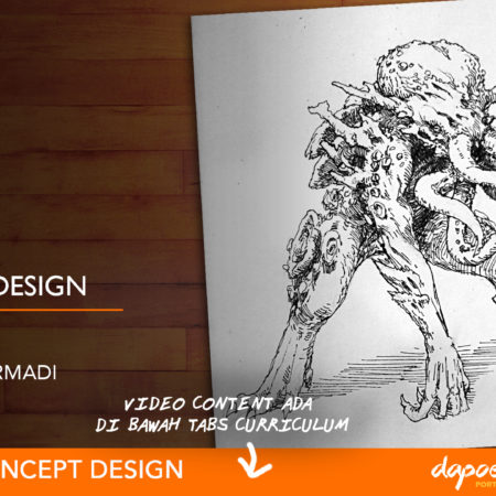Dapoer Animasi : Creature Design