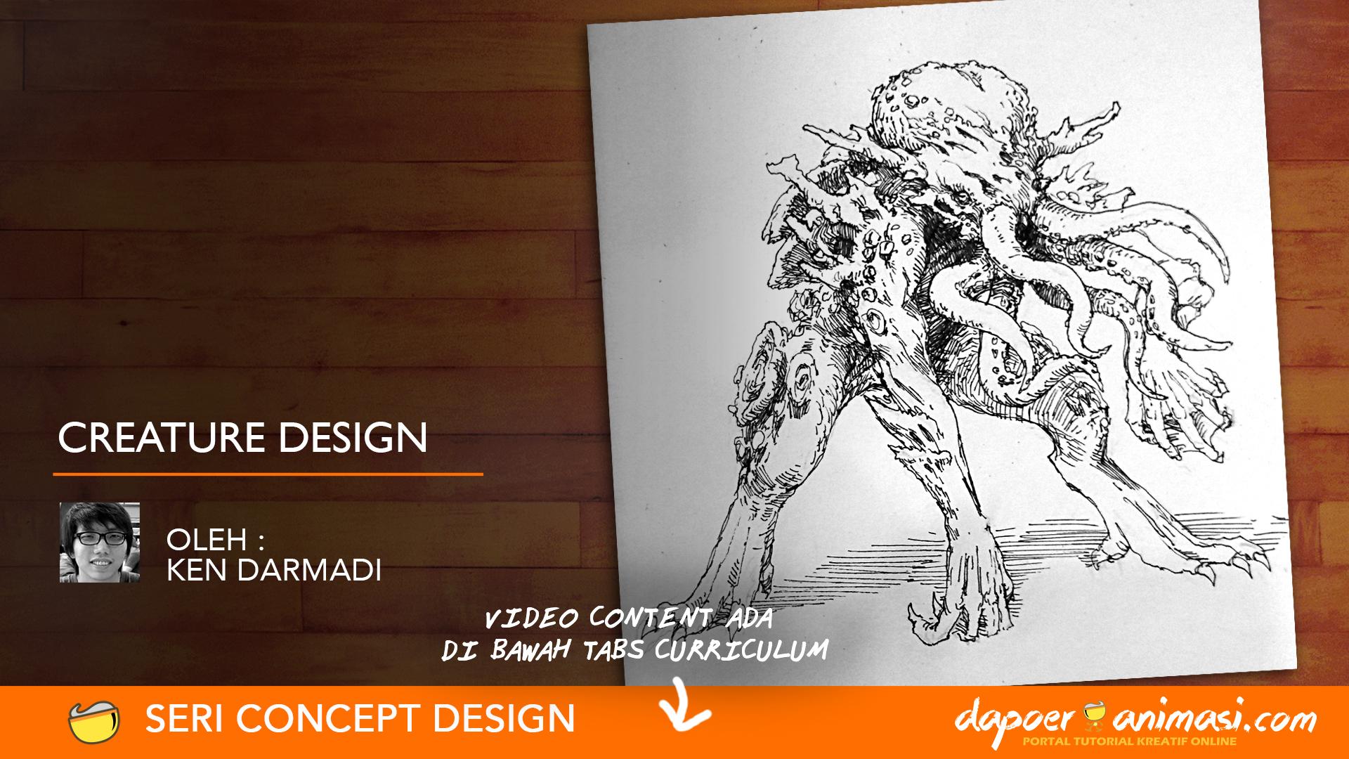 Dapoer Animasi : Creature Design