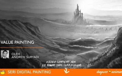 Dapoer Animasi  : Value Painting
