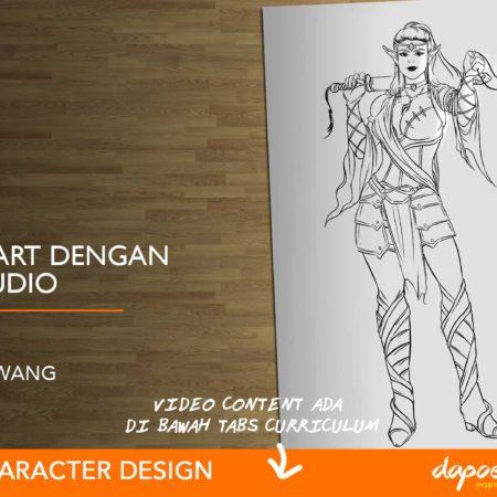 Dapoer Animasi : Basic Line art dengan Manga Studio