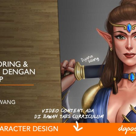 Dapoer Animasi : Basic Coloring & Rendering dengan Photoshop