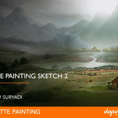 Dapoer Animasi : Basic Matte Painting Sketch 2
