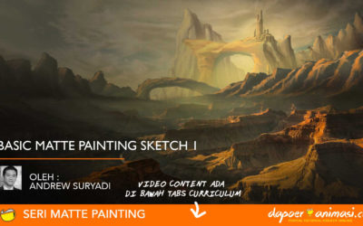 Dapoer Animasi : Basic Matte Painting Sketch 1