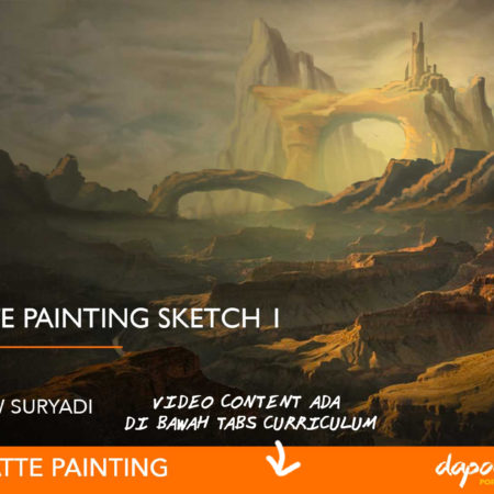 Dapoer Animasi : Basic Matte Painting Sketch 1