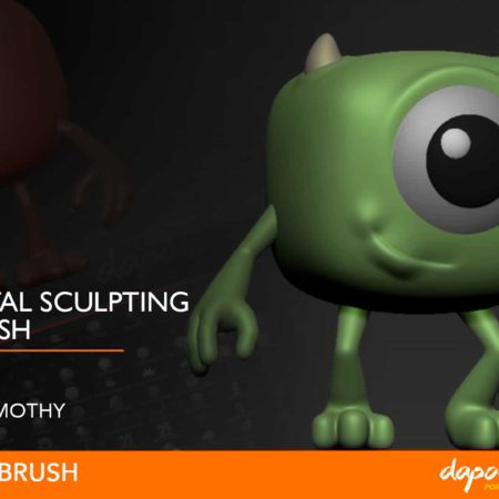 Dapoer Animasi : Basic Sculpting with Zbrush