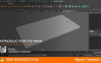 Dapoer Animasi : Introduction to Maya