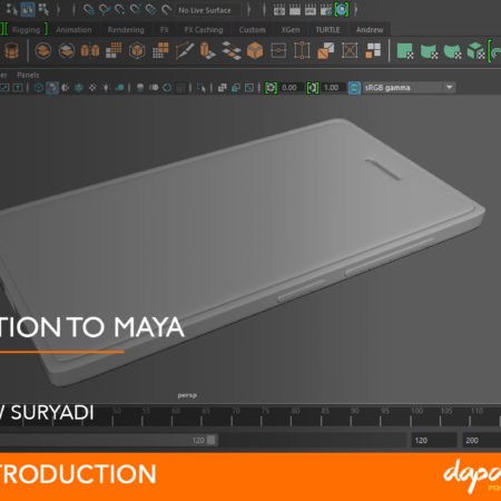 Dapoer Animasi : Introduction to Maya